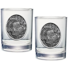 Turkey Double Old Fashioned Glass Set of 2