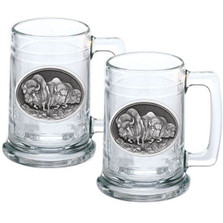 Buffalo Stein Set of 2