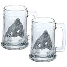 Gorilla Stein Set of 2