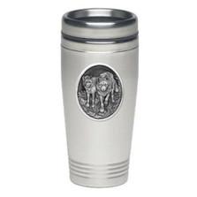 Wolf Thermal Travel Mug