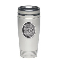 Buffalo Thermal Travel Mug | Heritage Pewter | HPITD206