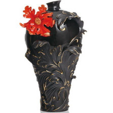 Baroque Red Lily Large Vase | FZ02148