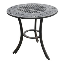 Grape Cluster Design Iron Patio Table