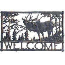 Elk Welcome Sign