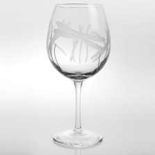Dragonfly Balloon Wine Glass Set of 4