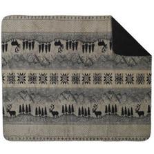 Black Forest Friends Elk Throw Blanket
