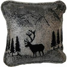Black Forest Friends Deer Throw Pillow