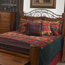 Fish Lodge King Bedspread