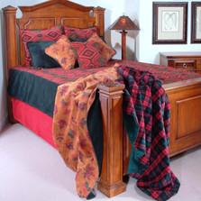 Navajo Wind Twin Bedspread