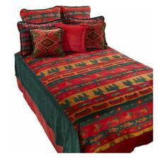 Fish Lodge Full Bedding Set