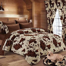 Rodeo Cow Print Comforter