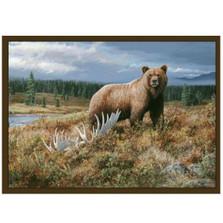 Grizzly Bear Area Rug