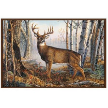 Whitetail Deer Area Rug