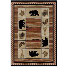 Bear Area Rug Vogel - Hearthside Collection