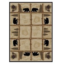 Bear Area Rug Toccoa - Hearthside Collection