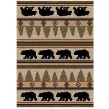 Bear Area Rug Appalachian - Hearthside Collection