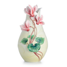 Persian Violet Flower Large Porcelain Vase   FZ02485   Franz Porcelain Collection
