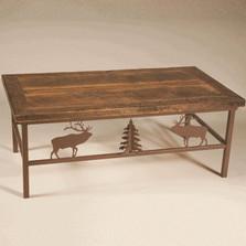 Elk Barn Wood Coffee Table