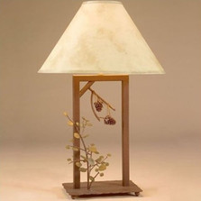 Aspen & Pinecone Fortress Table Lamp