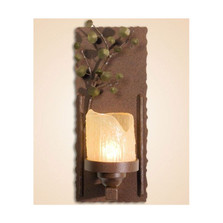 Aspen Leaves Wall Lamp Candle