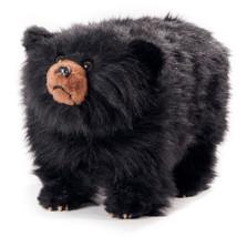 """Black Bear Footstool """"Shadow"""""""