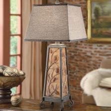 Acorn Table Lamp Autumn's Light