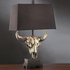 Buffalo Table Lamp Masters of the Prairies