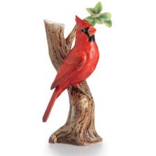 Cardinal Porcelain Vase | FZ02619