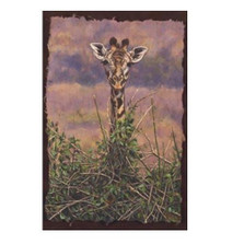 """Giraffe Print """"View from the Top"""""""