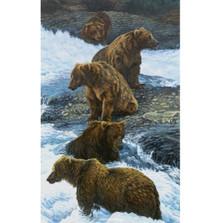 """Bear Print """"Dinner Party"""""""