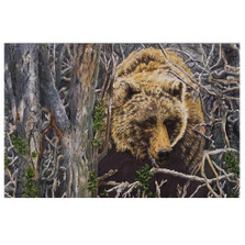 """Grizzly Bear Print """"In The Thick Of It"""""""
