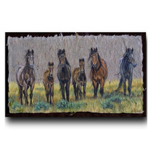 """Horse Print """"The Front Line"""""""