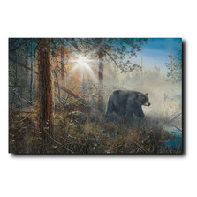 "Bear Print ""Shadow in the Mist"""