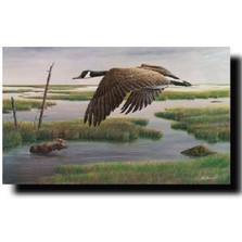 "Goose - Moose Print ""Wetlands and Wilds"""
