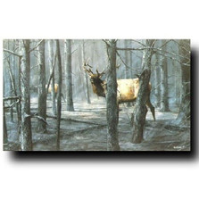 """Elk Print """"The Consequence of Fire"""""""