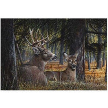 "Deer Print ""Autumn Royalty"""