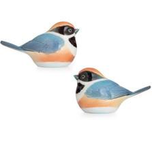 Black Throated Passerine Bird Salt Pepper Shakers | FZ02747