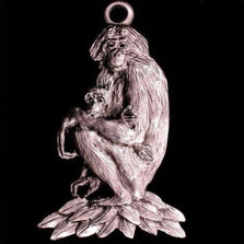 Bonobo Ape Ornament