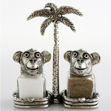 Monkey Salt Pepper Shakers