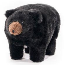 """Black Bear Footstool """"Midnite"""""""
