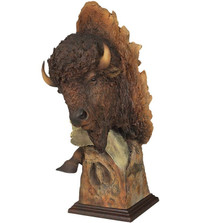 "Bison Sculpture ""Dust and Thunder"""