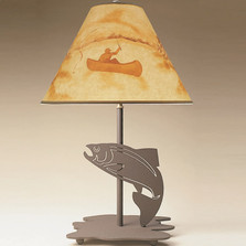 Fish Profile Table Lamp