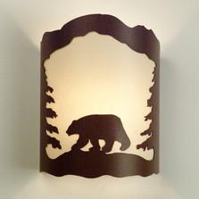 Bear Wall Sconce