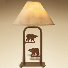 Bear Fortress Table Lamp