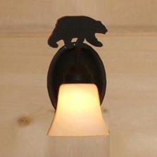 Bear Silhouette Sconce