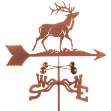 Elk Weathervane