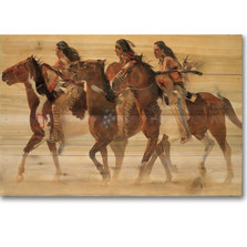 Horse Wood Wall Art 'Heartbeats & Hoofbeats""