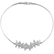 Starfish Sterling Silver Necklace | Nature Jewelry