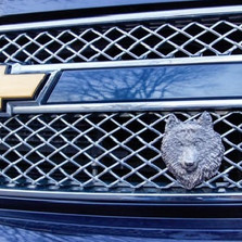 Wolf Grille Ornament