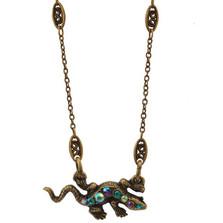 Lizard Pendant Necklace | Nature Jewelry